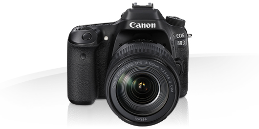 Canon EOS 80D -Specification - EOS Digital SLR and Compact