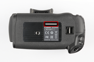 canon body serial number checker