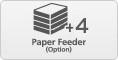 +4 Optional Paper Cassette
