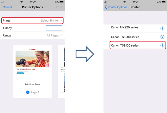 Apple AirPrint User Guide - Canon UK